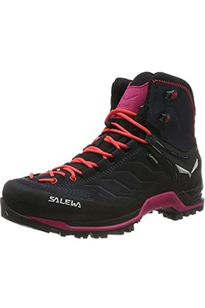 Salewa Women's Ws MTN Trainer Mid GTX High Rise Hiking Shoes, (Asphalt/Sangria 989)