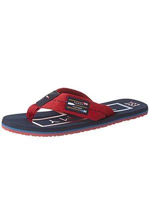 Tommy Hilfiger Men's Hilfiger Badge Beach Sandal, (Regatta Xit)