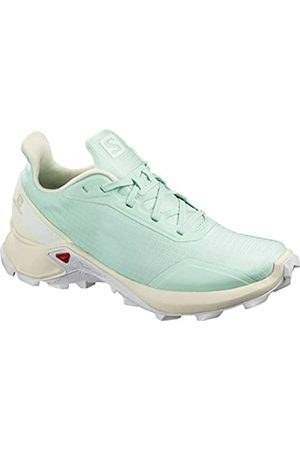 Salomon Women's Trail Running Shoes, ALPHACROSS W, Colour: Turquoise (Icy Morn/Vanilla Ice/ )