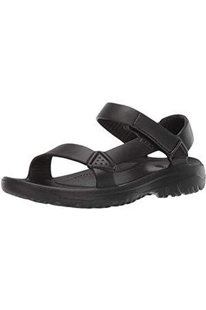 Teva Men's Hurricane Drift Open Toe Sandals, ( Blk)