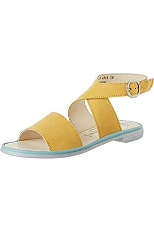 Fly London Women's CLOP009FLY Ankle Strap Sandals, (Bumblebee/Pale 003)
