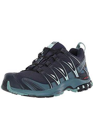 SALOMON Women's Trail Running Shoes, XA Pro 3D GTX W, Navy Blazer/Mallard /Trellis
