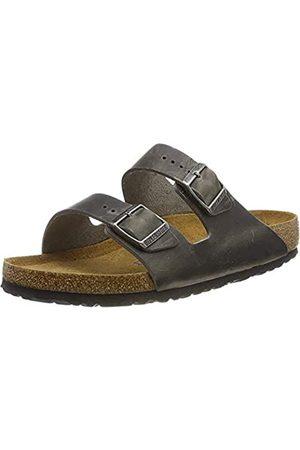Birkenstock Men's Arizona SFB Open Toe Sandals, (Iron Iron)