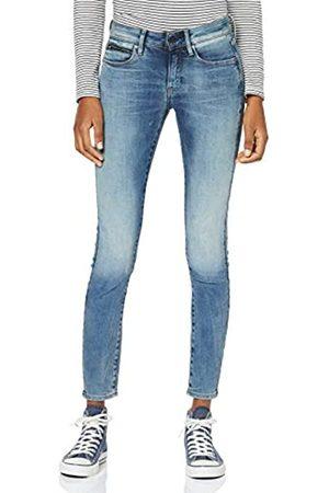 G-Star Women's 3301 Studs Mid Waist Skinny Jeans