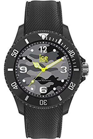 Ice-Watch Bastogne Anthracite - Men's (Unisex) wristwatch with silicon strap - 016292 (Medium)