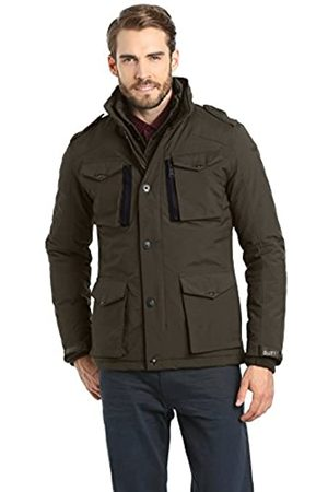 Schott NYC Men's Field Parka Long Sleeve Jacket