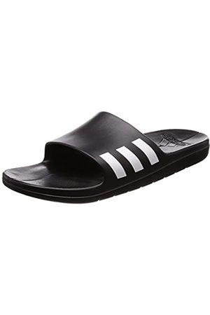 adidas Men's Aqualette Beach & Pool Shoes, (Cblack/Ftwwht/Cblack)