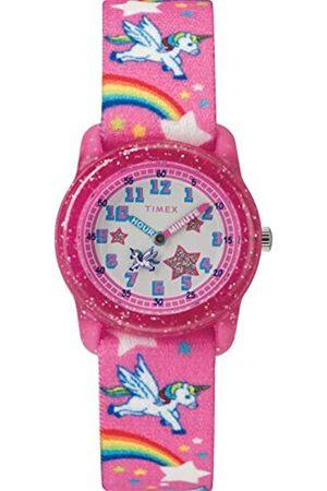 Timex Kid's Analog 28 mm Elastic Fabric Strap Watch TW7C25500