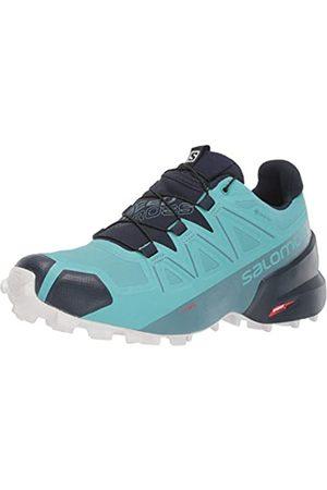 Salomon Women's Speedcross 5 GTX W Hiking Shoe, Meadowbrook/Navy Blazer/ San
