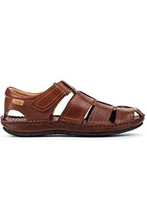 Pikolinos Leather Flat Sandals Tarifa 06J