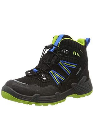 Superfit Boys' Canyon Snow Boots, (Schwarz/Grün 00)