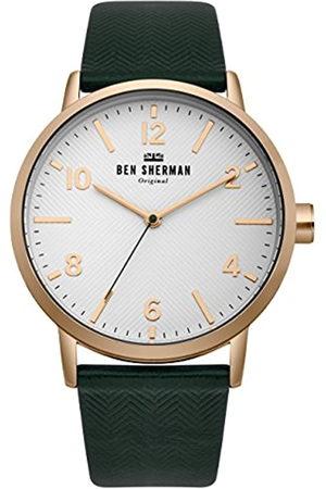 Ben Sherman Mens Analogue Classic Quartz Watch with Nylon Strap WB070NBR