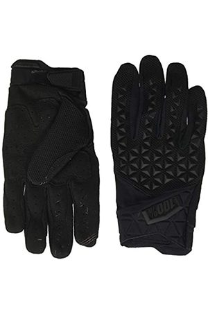 100 Percent Men's Airmatic 100% Glove /Charcoal Lg Special Occasion, Negro