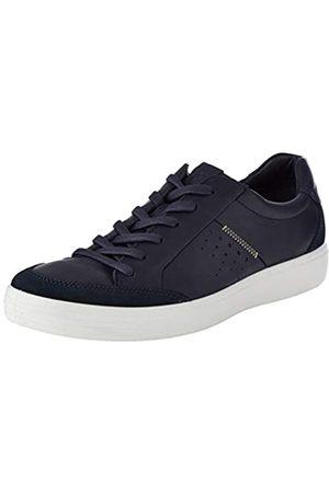 ECCO Men's Soft 7 Low-Top Sneakers, (Navy/Night Sky 51313)