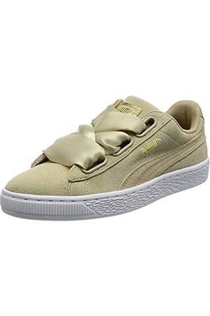 Puma Women's Suede Heart Low-Top Sneakers, (Safari-Safari)