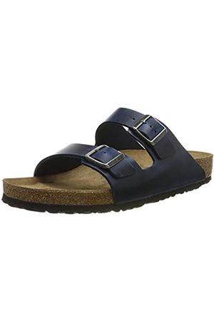 Birkenstock Men's Arizona SFB Open Toe Sandals, (Bleu Bleu)