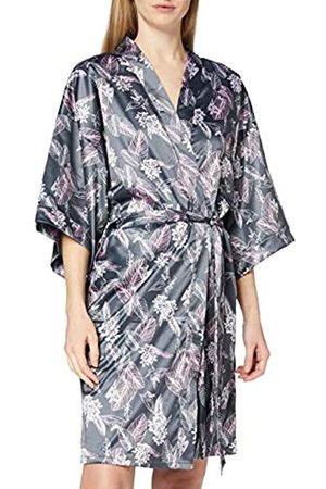 Schiesser Women's Mix & Relax Lounge Kimono Dressing Gown
