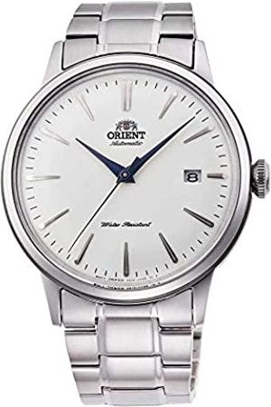 Orient Mens Analogue Automatic Watch with Stainless Steel Strap RA-AC0005S10B