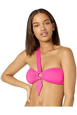 Seafolly Women's Active Ring Front Bandeau Bikini Top