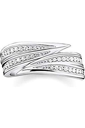 Thomas Sabo Women 925 Bullet Cubic Zirconia Ring - TR2283-051-14-56
