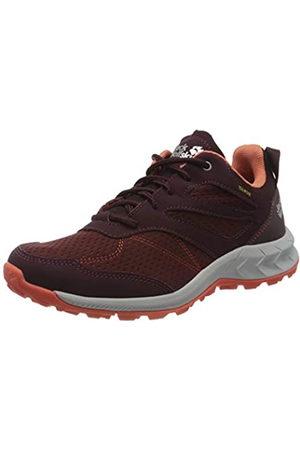 Jack Wolfskin Women's Woodland Texapore Low W Rise Hiking Shoes, (Burgundy/ 2828)