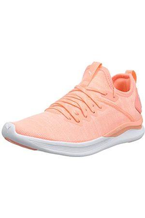 Puma Women's Ignite Flash Evoknit WN's Training Shoes, (Bright Peach )