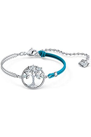 Swarovski Women's Blue Rhodium plated Symbolic Tree of Life Bracelet 5521494