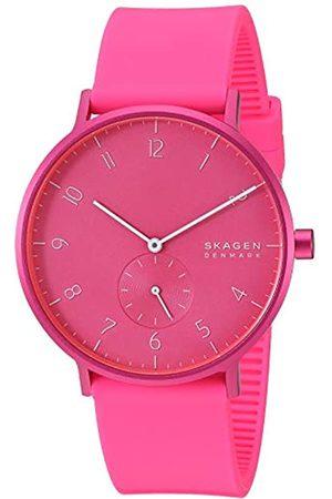 Skagen Unisex Adult Analogue Quartz Watch with Silicone Strap SKW6559