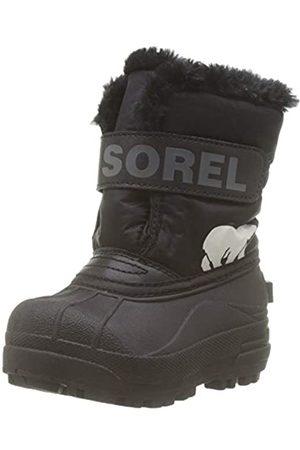 Sorel Unisex Kid's Toddler Snow Commander Boot, , Charcoal