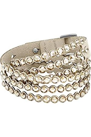 Swarovski Women's Golden Crystal Power Collection Bracelet 5494230