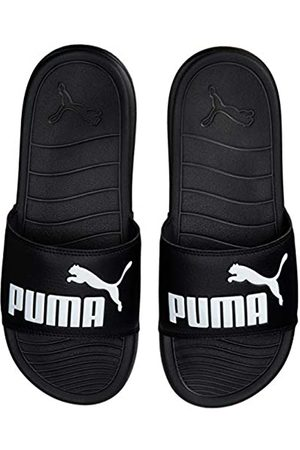 Puma Unisex Adulto Popcat 20 Zapatos de Playa y Piscina, Negro 01
