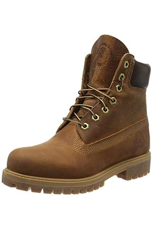 Timberland Heritage 6 Inch Premium, Men's Ankle Boots Lace-up Boots, (Medium Nubuck)