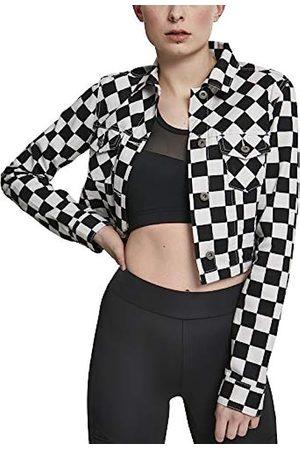 Urban Classics Urban Classic Women's Ladies Short Check Twill Jacket