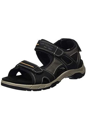 Tom Tailor Men's 8082201 Ankle Strap Sandals, ( 00001)