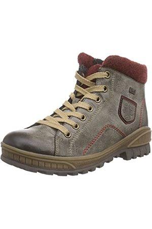 Rieker Kinder K3677, Girls' Ankle Boots, Gray - Grau (cigar/bordeaux/wine / 25)