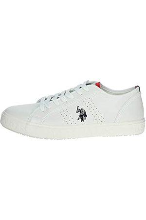 U.S. Polo Assn. US Polo Association Men's Jeremiah Gymnastics Shoes, (WHI 001)