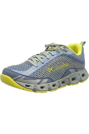 Columbia Women's Drainmaker™ Iv Trail Running Shoes, (Dark Mirage, Acid 411)