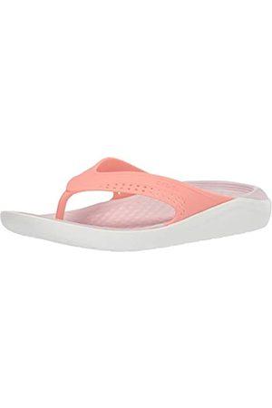 Crocs Unisex Adults' Literide Flip U Beach & Pool Shoes, (Melon/ 6kp)