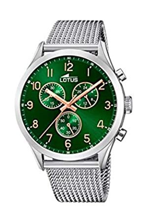 Lotus Mens Chronograph Quartz Watch with Stainless Steel Strap 18637/2
