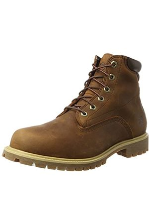 Timberland Men's 6 Inch Basic Alburn Waterproof Lace-up Boots, (Md Full Grain)