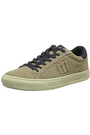 MTNG Attitude Men's 84299 Low-Top Sneakers, (Suede Taupe 352104)