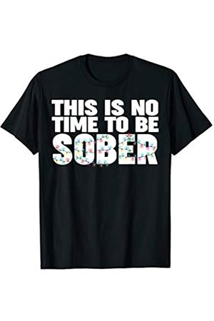 Miftees This Is No Time to Be Sober funny Christmas T-Shirt