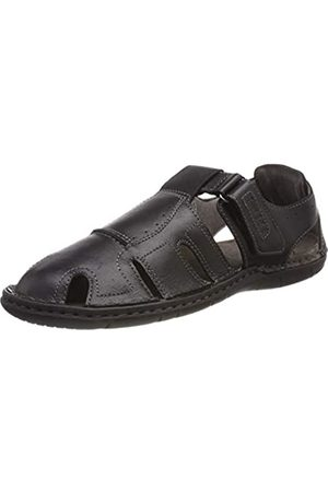 Josef Seibel Men's Paul 15 Closed Toe Sandals, (Schwarz 100)