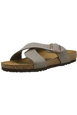 Birkenstock Homme Tunis Open Toe Sandals, Gris (Stone Stone)
