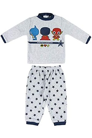 CERDA ARTESANIA Baby Boys' Pijama Largo Justice League Pyjama Sets