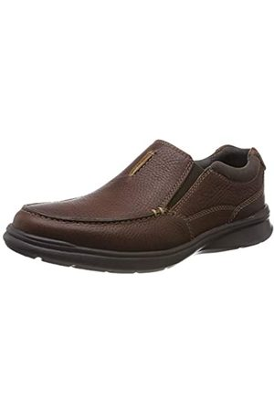 Clarks Men's Cotrell Free Loafers, (Tobacco Leather)