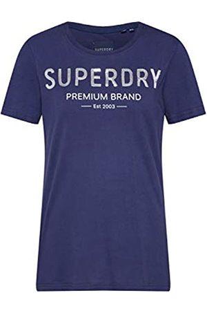 Superdry Women's Premium Sequin Entry Tee T-Shirt