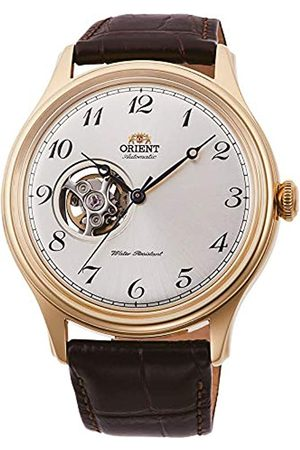 Orient Mens Analogue Automatic Watch with Leather Strap RA-AG0013S10B