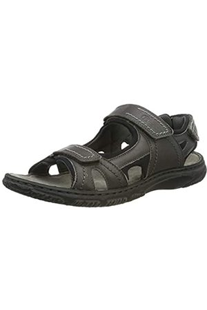 Josef Seibel Men's Carlo 03 Sling Back Sandals, (Asphalt 780)