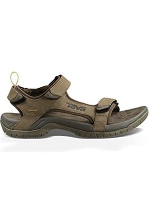 Teva Men's Tanza Leather Sports and Outdoor Sandal